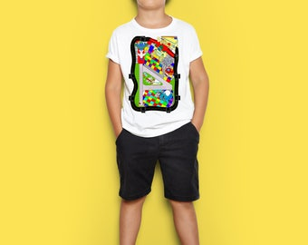 Airplane Map Kids T Shirts 3 PLANES INCLUDED!!!