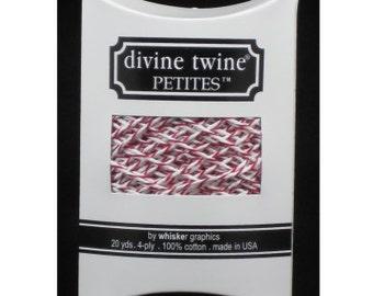 NEW- Divine Twine Petites (20yards)- CHERRY