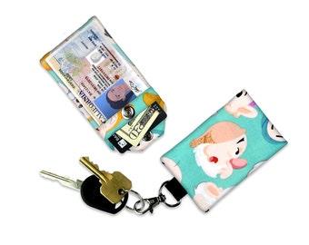Disney Seven Dwarfs Sneezy ID Wallet, Mini Wallet, Lanyard ID Holder, Luggage Tag, Vacation ID Wallet