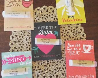 Lip Balm Valentines, valentine gift, valentine favor, favor, valentine, lip balm gift, lip balm favor