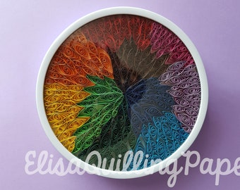 Quilling color Fusion