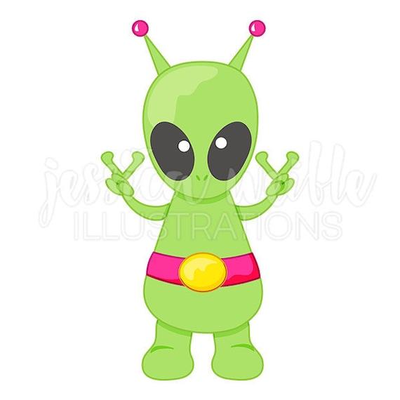 peace alien cute digital clipart cute alien clip art peace rh etsy com clipart valentine card clip art alignment