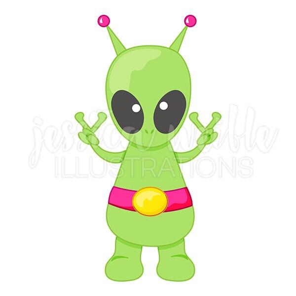 peace alien cute digital clipart cute alien clip art peace rh etsy com clipart valentine day clipart valentine