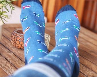 Women's socks, Men socks, Socks for men, Fantasy Socks, Colourful Socks, Socks for her, Gift for women, Striped Socks, Sheep