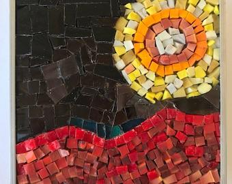 A Venusian Sun mosaic