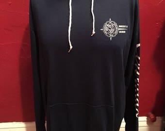 Vintage 70's University of Colorado Hooded Sweatshirt Artex L