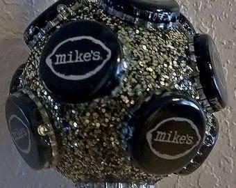 Mike's Hard Lemonade bottle cap Christmas ornament