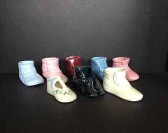 Small Shoe Planters - Set of 8