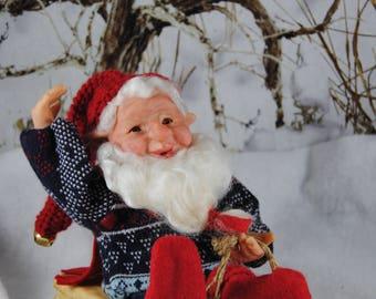 "Elf Doll/Gnome/ Nisse/OOAK Elf/""Mikey's Wild Ride"""