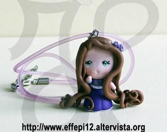 """Necklace with b. princesses """"Rapunzel"""""""