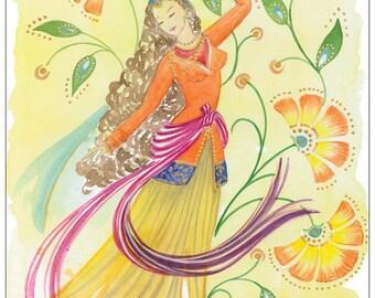 Nowruz - postcard