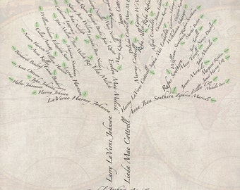 Custom Family Tree - Digital Art