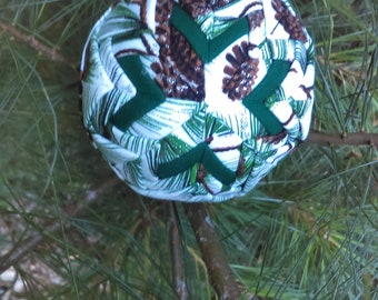 """Quilted Christmas Ornament 3"""""""