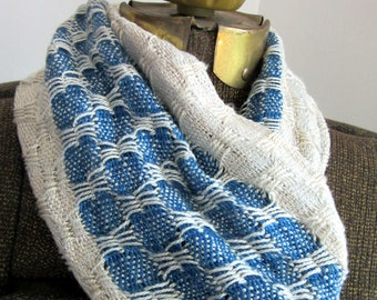 Bamboo Scarf, Hand Dyed with Indigo, Black Walnuts, and Pokeweed