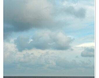 Contemplation - Gulf Coast Beach Photograph