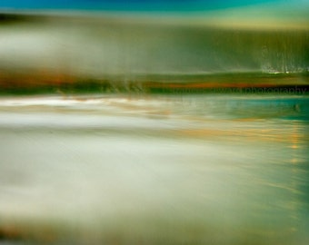 Snow Melt in Spring.  fine art photograph. abstract. giclee. original. print