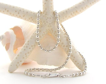 Sterling Silver Beads w/Spacers