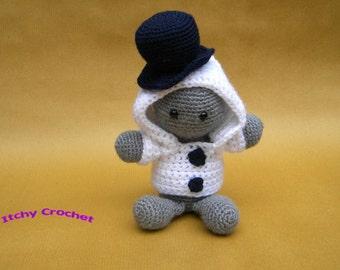 Inchoate Snowman Crochet Pattern