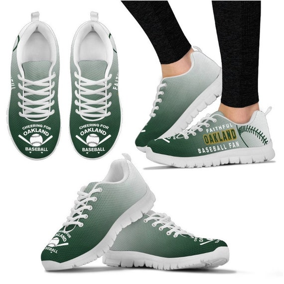 Sneaker Athlitics Baseball Oakland Fan Shoes Walking HB 051A PP 17t7rx5