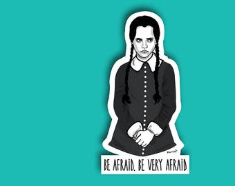 Sticker // Wednesday Addams