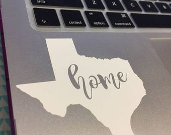 Home State Laptop Decal