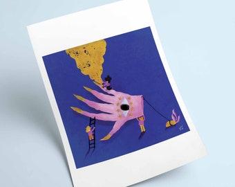 Go(L)d Seekers - Print
