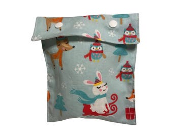 Forest Frolic Project Bag Notions Pouch