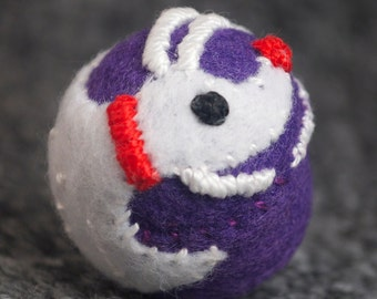 Made to order - Zero from Nightmare Before Christmas small bottlecap pincushion free usa ship