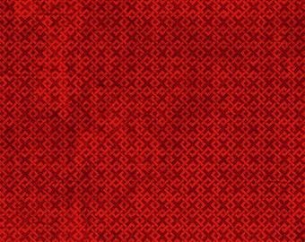 Essentials Red Criss Cross Texture 85507-333
