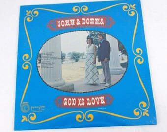 John & Donna God is Love Vinyl LP Record Album American Artists AAS-1-205 New Sealed