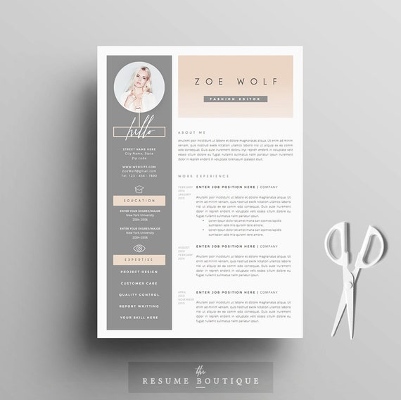 Cover Letter For The Post Of Web Developer: Resume Template And Cover Letter References Template For