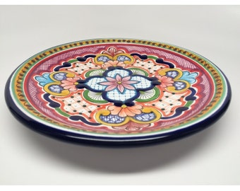 "Mexican Talavera Plate 8"""