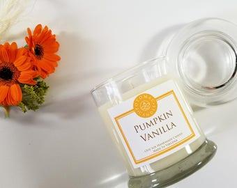 Pumpkin Vanilla 12oz soy candle