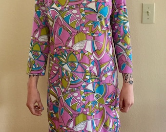 SALE! Vintage Sears 60s 70s Dress
