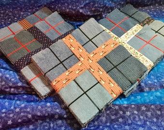 5 inch Square Denim Quilt Block Bundle