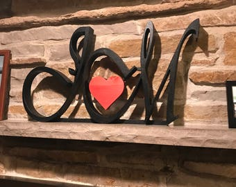 Custom Monogram Initials - Freestanding or Wall Mounted