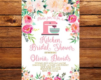 Kitchen bridal shower invitation stock the kitchen wedding floral kitchen bridal shower invitationpantry bridal shower invitationcooking theme bridal shower invitebaking shower invitation 047 filmwisefo
