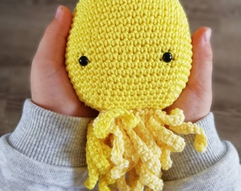 Little amigurumi stuffed Octopus