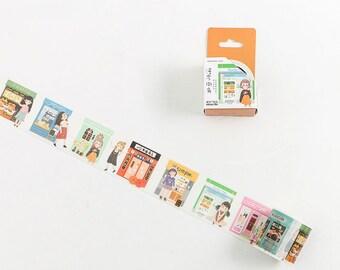 Corner Washi Tape XH012