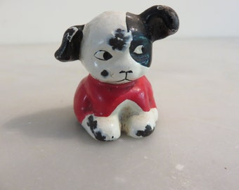 Vintage Die Cast Dog Figurine