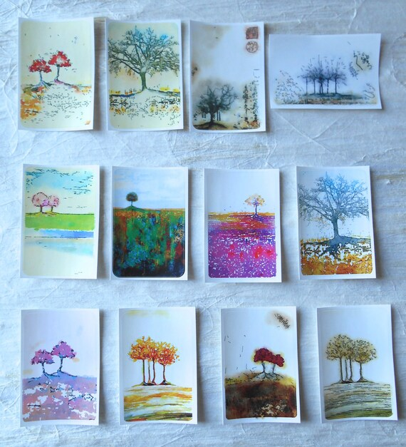 Trees 1 - Large Fine Art Stickers