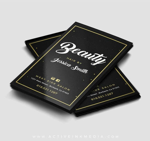 Hair stylist business cards business card design stylist reheart Images