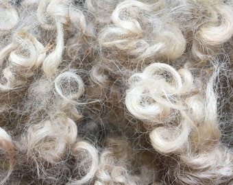Natural Shetland Fleeces - 8oz