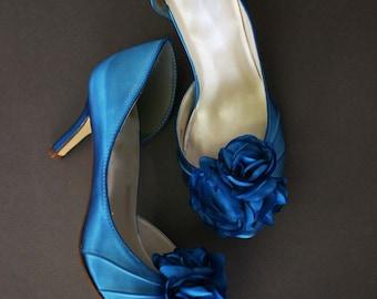 Wedding Shoes, Blue Wedding Shoes, Something Blue, Turquoise Blue Wedding Shoes, Bridal Shoes, Bridal Heels, Custom Wedding Shoes, Blue Shoe