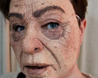 Old Person - Realistic Halloween Mask