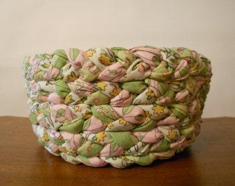 Braided Fabric Bowl