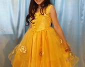 Girls Belle costume size ...