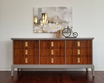 Vintage Mid Century Dresser/Credenza by Dixie *Local Pick Up Only