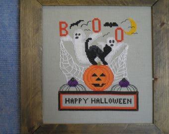 Happy Halloween X-stitch