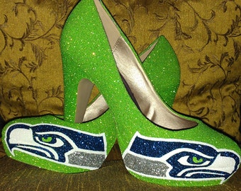 SEATTLE SEAHAWKS HEELS